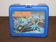 VINTAGE TOY 1991 DC COMICS PLASTIC BATMAN LUNCHBOX