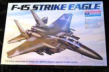 Monogram F-15E Strike Eagle model kit in 1/72 scale