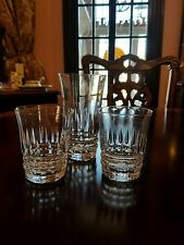 Bryce Wakefield 1 Highball Glass 2 old fashioneds Vertical cuts tumblers