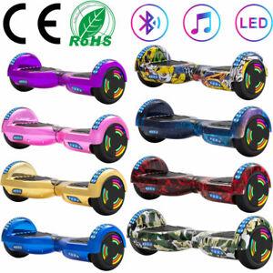 """Hoverboard 6,5"""" Bluetooth Elektro Scooter LED Balance Board Kinder ElektroRoller"""