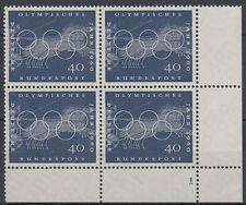 Germany Bund BRD 1960 Mi.335 ** Bl/4 Olympische Spiele Olympic Games [vd361]