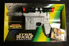 1996 Star Wars Han Solo Power of Force Water Blaster Battery Operated Larami
