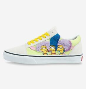 Simpson X Vans Old Skool Bouviers All Size Authentic Men's Sneakers VN0A4BV521M