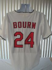 Michael Bourn Cleveland Indians SGA Baseball Promo Jersey XL NWOT Collectible