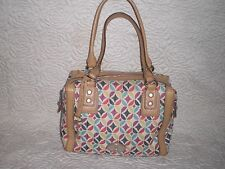 Fossil Maddox  Satchel  Bag Tote Handbag WITH  KEY
