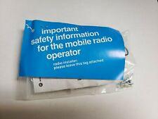 New listing Motorola Hln5391 Microphone Hang-Up Clip