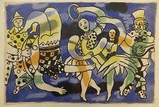 Fernand Léger Clowns et acrobates 1950 Lithographie Le Cirque