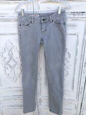 "EXPRESS X2 Ultra Low Skinny Jeans Gray Wash 6.5"" Rise 30 x 31 W01 Pants VGUC"