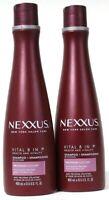 2 Count Nexxus 13.5 Oz Vital 8 In 1 Elastin ProteinFusion & Coconut Oil Shampoo
