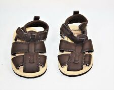 Carters Child of Mine Handsome Infant Bays Sandals 0 - 3 Months New