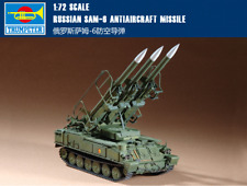 Trumpeter 1/72 07109 Russian SAM-6 Anti- Aircraft Missile System Model Kit New