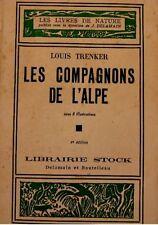 LOUIS TRENKER les compagnons de l'alpe 1934 STOCK RARE+