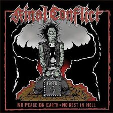 No Peace on Earth, No Rest in Hell by Final Conflict (UK) (CD, Sep-2006, SOS...