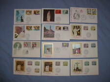 Vatican City 1984 Compete FDC Year Set