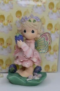 """Precious Moments Figurine """"You Are So Fairy Thoughtful"""" Sharing Stone 952958 '01"""