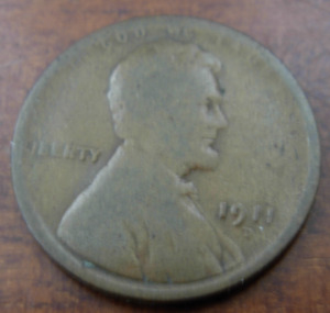 US 1911d Copper 1 Lincoln Cent Circulated