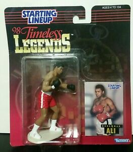 1998 MUHAMMAD ALI TIMELESS LEGENDS STARTING LINEUP BOXING ACTION FIGURE, NEW!!