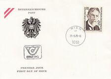 Österreich 1621 FDC 50. Todestag Richard Zsigmondy - Nobelpreisträger Chemie