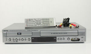 Sanyo DVW-7000 DVD Player Video Cassette Recorder Player w/ Remote