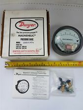 Dwyer 2000-5-kPa Magnehelic Differential Pressure Gage Gauge 100kPa - New