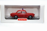 #763 02 41 - Wiking VW 1600 - Feuerwehr ELW 1 - Berliner Feuerwehr - 1:40
