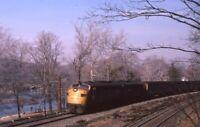 CONRAIL Railroad Train Streamliner Locomotive Original 1982 Photo Slide