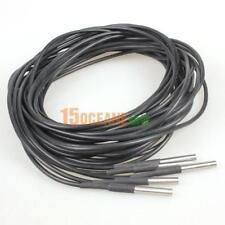 5x 3M Temperaturfühler DS18B20 Thermosensor Temperatur-sensor Wasserdicht Kabel