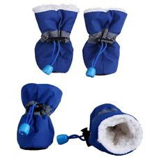 Warm Winter Pet Dog Boots Puppy Shoes Protective Anti-slip Apparel for 4pcs/set