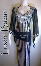 Egyptian Belly Dance Costume Saidi Dress, Baladi Galabeya, Fallahi Abaya, gypsy