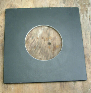 pattern Sinar F & P fit 14cm  lens board panel with copal compur 3  65mm  hole