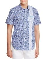 Robert Graham Rosie Boa Regular Fit Button-Down Shirt, NWT, M