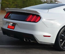 """Ford Mustang 2015+ Lip Mount """"Racing Style"""" Rear Spoiler Primer Finish USA Made"""