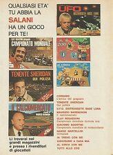 X7659 Giochi in scatola SALANI - Pubblicità del 1977 - Advertising