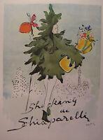 1944 Esquire Original Ads WWII Era Shocking Schiaparelli Marcel Vertes Painting