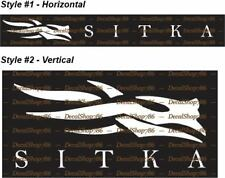 Sitka Gear -Hunting & Outdoor Apparel & Gear- Vinyl Die-Cut Peel N' Stick Decals