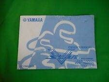 '01 OEM YAMAHA MOTORCYCLE V-STAR LIT-11626-14-38 OWNER'S MANUAL