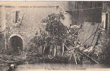 PEZENAS inondation du 26 septembre 1907 7 une maison écroulée à La Chaussée