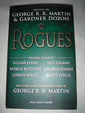 **SIGNED 1st Print/Ed** Rogues George RR Martin Patrick Rothfuss Joe Abercrombie