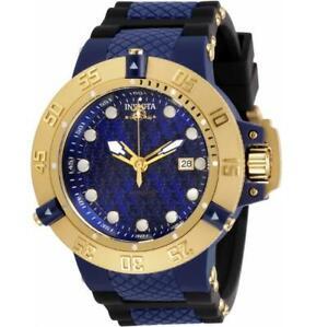 Invicta Subaqua Noma III 31721 Mens Automatic Black/Blue Silicone/Plastic Watch