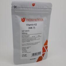 VITAMIN K2 TABLETS | 120 x 100mcg | (MK-7) from Natto