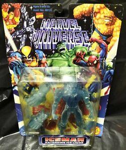 Marvel Universe Iceman Extending Ice Limbs Figure Toy Biz Rare