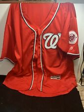 Washington Nationals  jersey Size 52 Made By Authentic Flex Base , New Condition