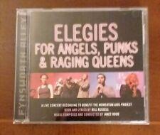 """""""Elegies for Angels, Punks and Raging Queens"""" 2001 CD New York Concert Cast OOP"""
