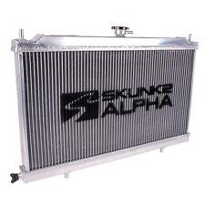 SKUNK2 ALPHA SERIES FULL-SIZE RADIATOR 88-91 HONDA CIVIC CRX EF DUAL CORE W/ CAP