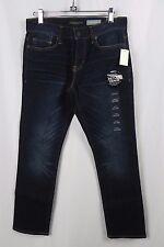 NEW Aeropostale's Men's Dark Wash Skinny Jeans Size 27x28 (A1-24)
