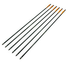 "6 Pcs 30"" Carbon Crossbow Bolts Arrows Hunting Archery Compound bow 180 55 70 80"