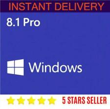 Windows 8.1 Pro 32/64 bit GENUINE  PRODUCT KEY code +download link