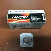 NEW Energizer 395 399 Battery 1.55v Batteries Silver Oxide WATCH SP395 SR927SW