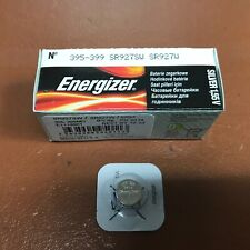 Batteries Silver Oxide Watch Sp395 Sr927Sw 10 x Energizer 395 399 Battery 1.55v