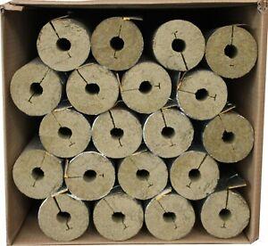 Rohrschalen aus Steinwolle, alukaschiert volle Kartons